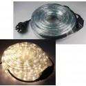 LED-Lichtschlauch Anschlussfertig 10m und 240 LEDs Warmweiß