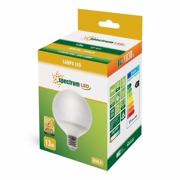 LED Globe Birne E27 13 Watt 1050 Lumen neutralweiß