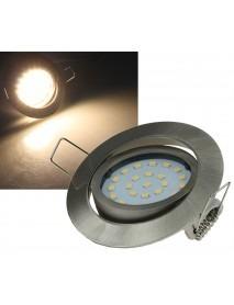 LED-Einbauleuchte Flat-26 warmweiß 330lm 4W