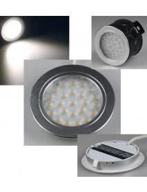 LED-Einbauleuchte EBL-R60 kaltweiß 180lm 2W
