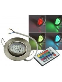 LED-Einbauleuchte Flat-30 RGB 3W