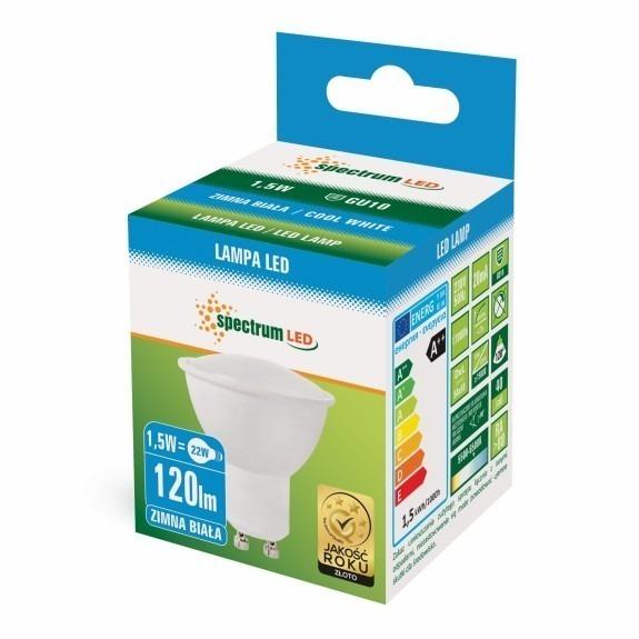 LED GU10 Strahler / Spot 1,5 bis 8 Watt in Weiß Kaltweiss-1,5 Watt