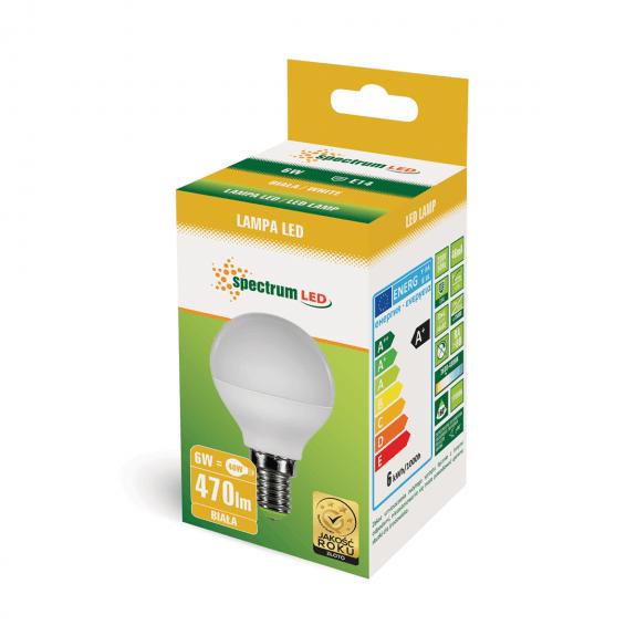 Kleine E14 LED Lampe 6 Watt 500 Lumen neutralweiß