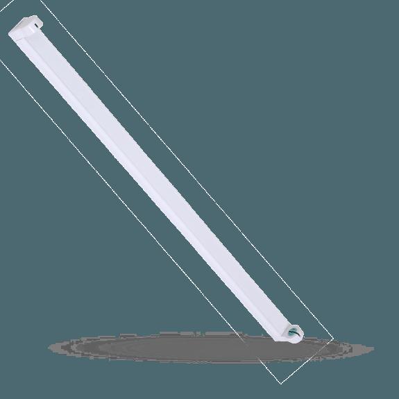 Fassung für LED Röhren aus Kunststoff 60 cm