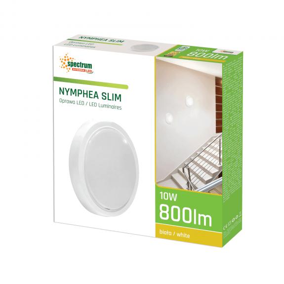 LED Wand- und Deckenleuchte Slim Rund 10 Watt Lichtfarbe wählbar-3.600 - 4.800 K neutralweiß