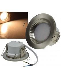 LED-Einbauleuchte Flat-40 FR 2900K 470lm 5W