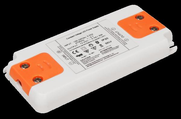 LED-Trafo McShine Slim elektronisch, 1-6W, 230V auf 12V, 99x46x12mm