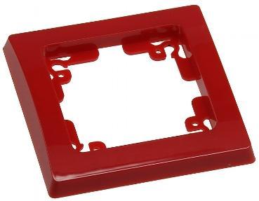 DELPHI 1-fach Rahmen in Rot
