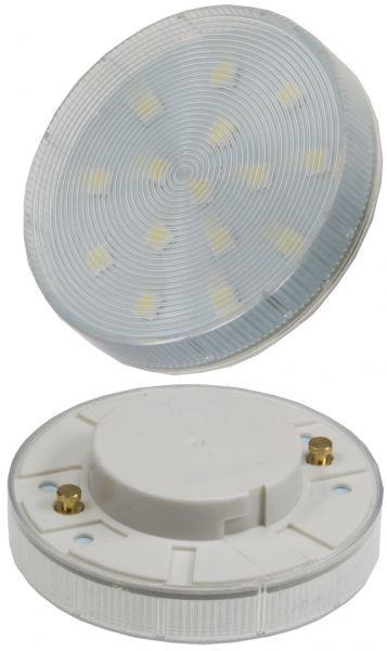 "LED Leuchtmittel GX53 ""XH 25"" warmweiß 3W, 220lm, Ø75x25mm, 120°, 2700k"