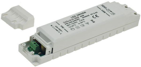 elektronischer LED-Trafo 1-80W 230V~ auf 12V=