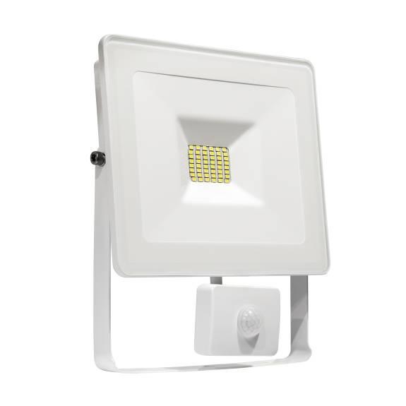 LED Fluter / Scheinwerfer NOCTIS Lux in Weiß 10 Watt mit Bewegungsmelder - Lichtfarbe wählbar