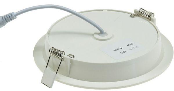 """LED Licht-Panel """"CP-150R"""", Ø 150mm, IP54 230V, 10W, 840 Lumen, 4200K/neutralweiß"""