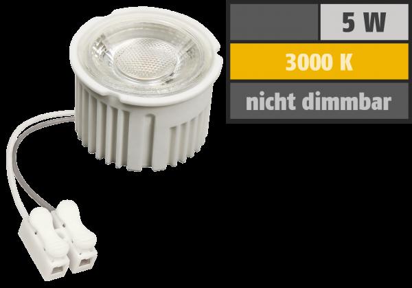 LED-Modul McShine MCOB 5W, 400lm, 230V, 50x33mm, warmweiß, 3000K
