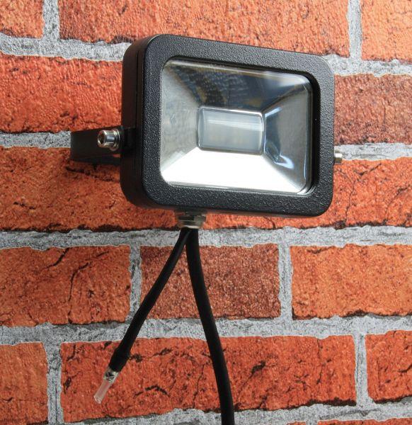 "LED-Fluter SlimLine ""CTF-SL10W RGB"" IP44, 230V, RGB mit Fernbedienung"