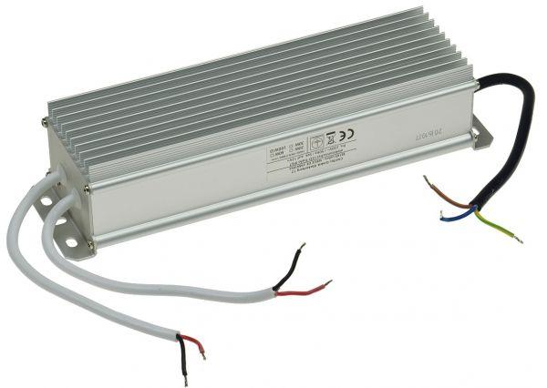 elektronischer LED-Trafo IP67, 1-100Watt Ein 170-250V, Aus 12V=, wasserdicht
