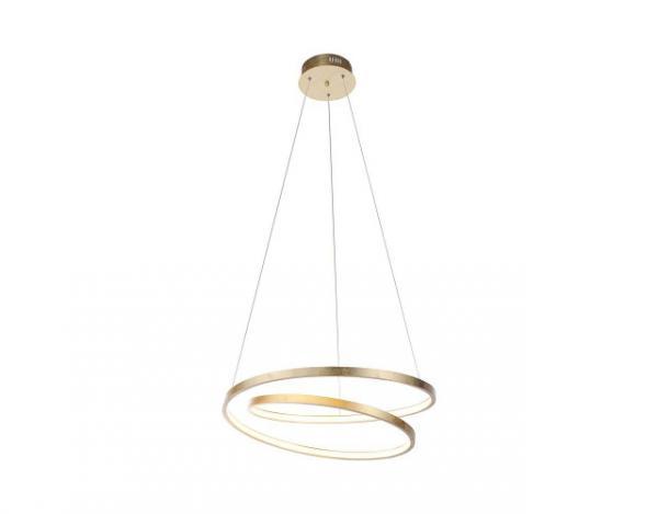 Paul Neuhaus LED- Pendelleuchte Geometrisch Gold