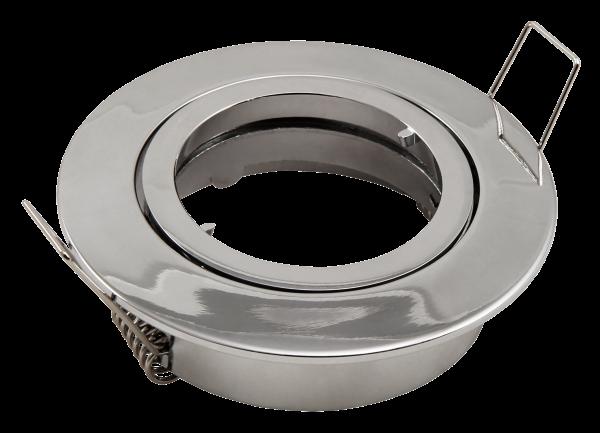 Einbaurahmen McShine DL-828c rund, Ø82mm, schwenkbar, Bajonett Verschluss