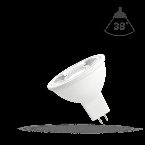 GU5.3 MR16 38° LED Spot 6 Watt 420 / 500 Lumen Lichtfarbe wählbar