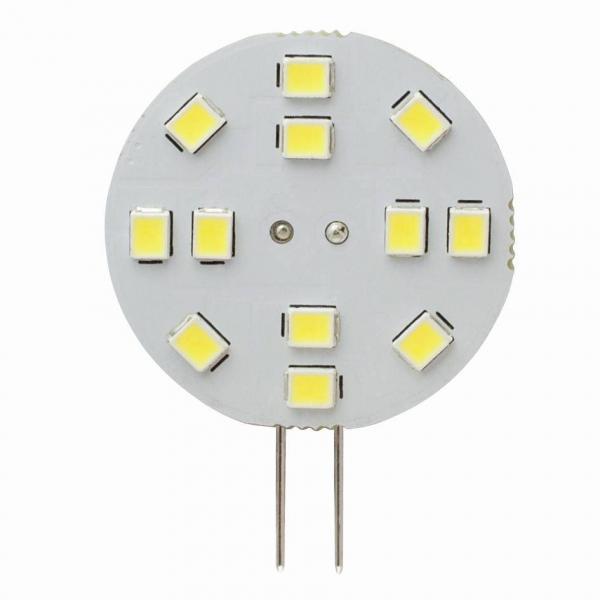 G4 Plättchen 1,2 Watt 125 Lumen Back Pin warmweiß