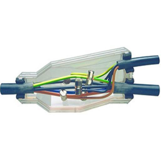 HGAM BAV2-KK, Gießharz-Abzweigmuffe 1 kV, Durchgang 5 x 2,5mm²-25mm²
