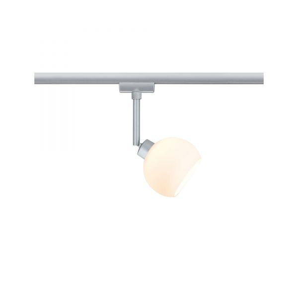 Paulmann URail LED Spot Wolbi 3,5W GZ10 Chrom matt/weiß