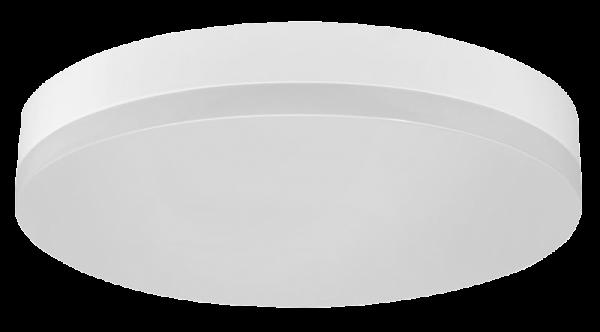 LED Deckenleuchte, 1.600lm, 3000K, 24W, warmweiß, IP44, 280x53mm, Bewegungsmelder