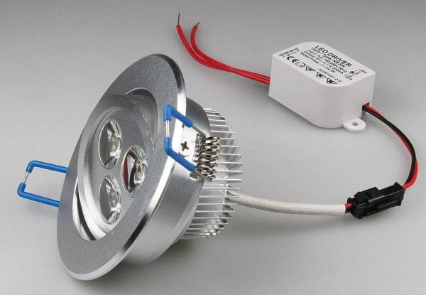 LED-Einbauleuchte RD-3 3W 240lm