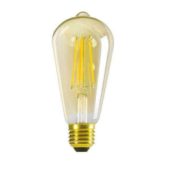 KANLUX Filament LED-Leuchtmittel XLED ST64 E27 A+ 7 Watt Warmweiß