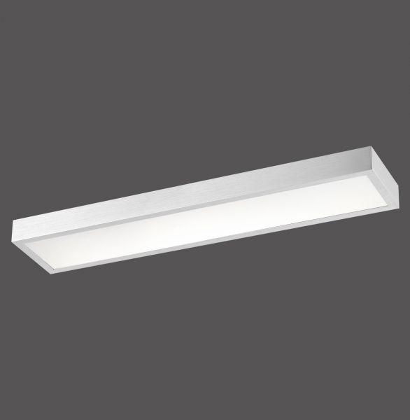 LED Deckenleuchte aluminium 3000K