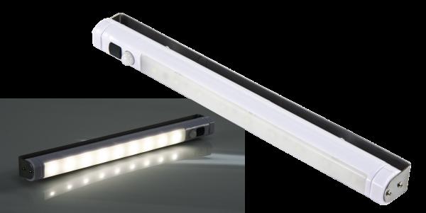 LED-Unterbauleuchte McShine, 9 SMD LED, 80 lm, Bewegungsmelder, weiß