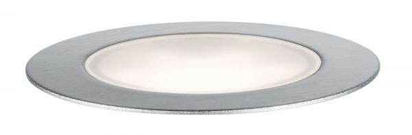 Paulmann Outdoor Plug & Shine Floor Basisset IP65 4000K 3x1W 24V 70mm Silber Eds/Kst