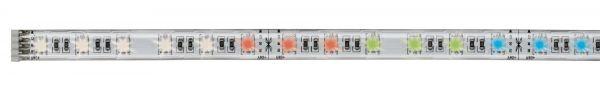 Paulmann MaxLED Strip 1m RGBW 12W silber mit Farbwechsel