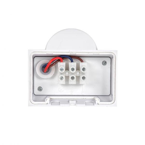PIR-Bewegungsmelder Spectrum Smart 180° 1,2kW 12m IP65 230V