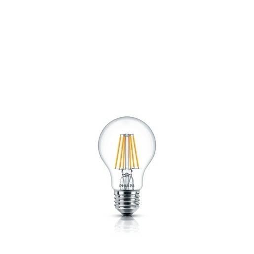 Philips dimmbare LED Filament Classic Birne 5,5 Watt 470 Lumen warmweiß