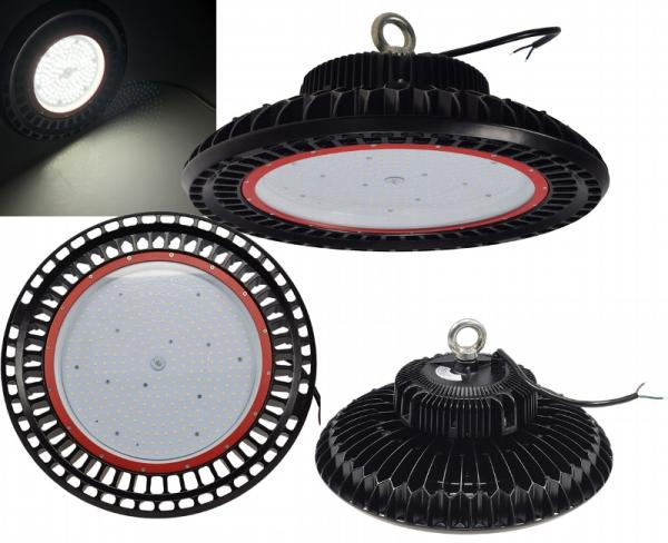 LED-Hallenstrahler 200 Watt, 110° Abstrahlwinkel und Schutzklasse IP65 mit 26.000 Lumen