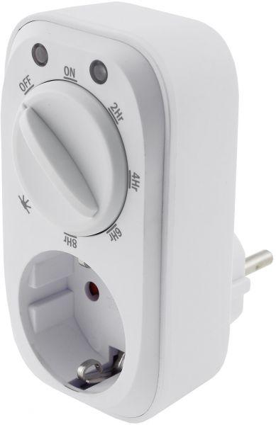 analoge Zeitschaltuhr mit Dämmerungs- & Countdown-Funktion, 16A, 3600W, IP20