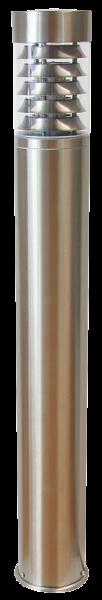 Außenleuchte, Ø100x1000mm, Edelstahl, IP44