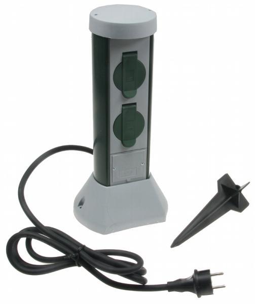 Gartensteckdose GC-Power 2-fach