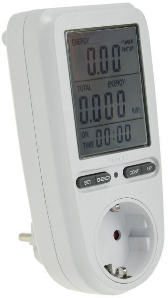 "Energiekosten-Messgerät ""CTM-808 Pro"" LC-Display, Messung bis zu 3680W"