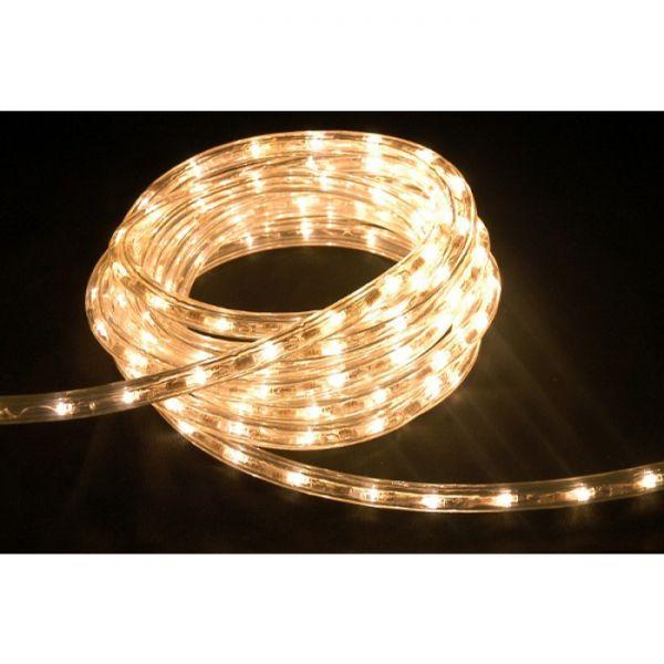 High-End LED Lichtschlauch UV-beständig IP67 1-90 Meter wählbar 230 Volt Warmweiß