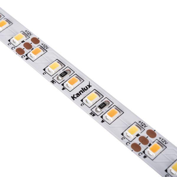 LED-Streifen LED STRIP 5 Meter LL120 16W/M 12 IP00CCT Ra>90