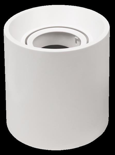 Aufbaurahmen McShine DL-950 rund, Ø93x100mm, schwenkbar, weiß