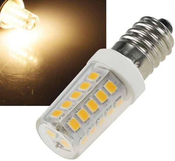 LED Lampe E14 Mini, warmweiß 3000k, 300lm, 300°, 230V, 4W, ØxL17x51mm