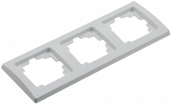 DELPHI 3-fach Rahmen in Weiß