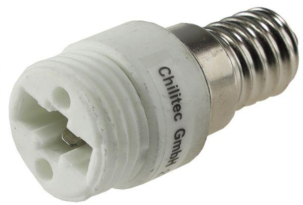 Lampensockel-Adapter, Keramik E14 auf G9