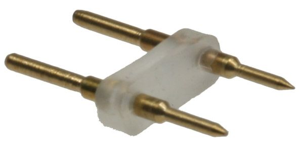 Verbinder für 230V LED Stripes Direktverbinder = Stecker / Stecker