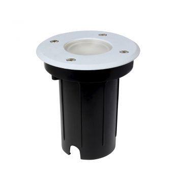 Bioledex LAROYA Bodeneinbauleuchte grau für GU10 LED Spots