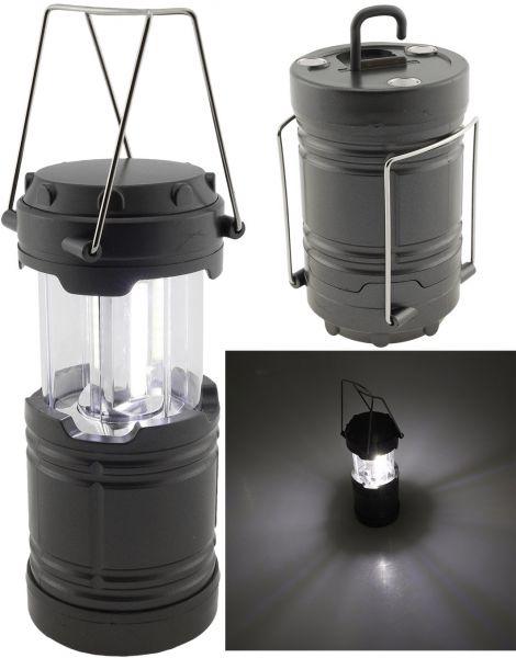 "LED Camping Laterne ""CL-B3"" 300lm, Batteriebetrieb, ØxH 85x135mm"