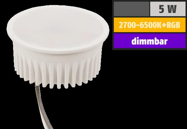Wifi Smart LED-Modul itius, 5W, RGB + CCT, Alexa, Google Assistant, App
