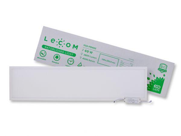 Lecom LED Panel 29,5 x 119,5 cm 6000K 3200 Lm CRI >80